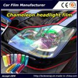 Chameleon Headlight Film Sticker Car Tail Light Vinyl Wrap Sticker