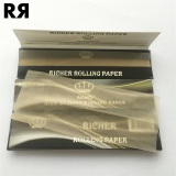 Richer brown 13gsm High Quality Cigarette Rolling Paper