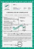 CE Certificates-CNC Lathe