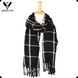 Fashion Men Acrylic Blanket and Throw Scarf