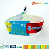 Custom RFID woven fabric bracelet