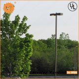 LED parking lot light project