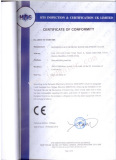 CE Certification of Blow moulding Machine