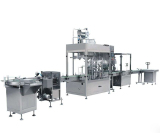 filling, capping, labeling machines