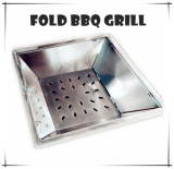 2015 Hot Sale Outdoor Stainless Steel BBQ Grill for Camping