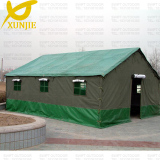 Military Type Thick Cotton Canvas Construction Tent