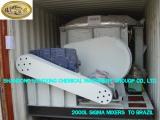 2000L Steam Heating Sigma Kneader to Brazil
