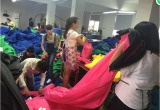 sleeping bag workshop