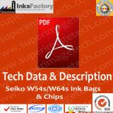 How to use Seiko W54s/W64s 500ml ink bags and chips