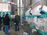 Swede Customer Visit To Our Wood Pellet Factory
