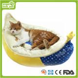 High Quality Crescent Shape Soft Warm Pet Dog Cushion&Bed