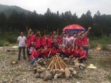 Our factory′s camping trip