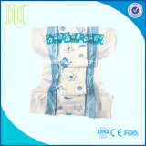 baby diaper with PE film backsheet and PP tape