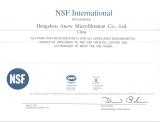 NSF INTERNATIONAL RECOGNIZES