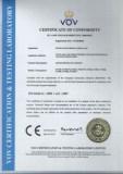Surge Protective Device CE Certificate