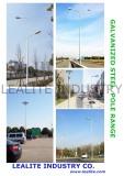Galvanized steel pole design