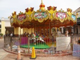 most popular kiddy amusement equipment-24 seats carousel