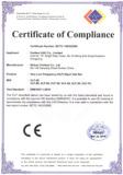 CE certificate for VLF hipot tester