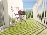 Artificial grass lawn for balcony greening without heavy metals