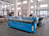Sn-Jcx2550c Laminated Glass Production Line to Ecuador in 2017