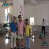 Group photo: Welocme our customer visited our company