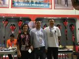 Our Mayor visit our booth