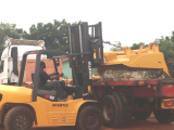 Forklift in Africa