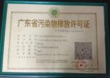 Pollutant Discharging License