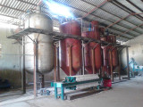20TD soybean pressing and 10TD oil refining plant