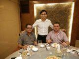 Having Dinner With Dubai Friends