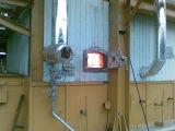 April 4th, 2013 Biomass fired steam boiler starts running