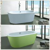 modern hotel colour bathtub