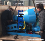 Pneumatic Conveyor Exported to Vietnam for conveying plastic materials