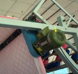 high speed shuttle quilting machine - fabric gear motor