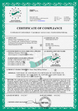 The CE certificate of plastic strapping tape line