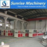 PVC Profile Extrusion Making Machine