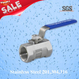 1PC Ball Valve, Stainless Steel 201, 304, 316 Valve, Q11f Ball Valve