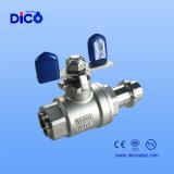 press end ball valve