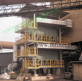 Dust collector used in steel plant