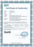 RoHs Report for silicone heater