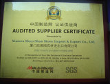 Audited Supplier Certificate - 2010