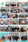 Overseas customers visited us