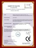 Laser machine CE certificate