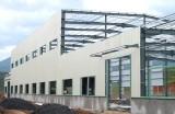 build large span warehouse workshop price