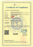 RoHS Certificate of Miniature Circuit Breaker