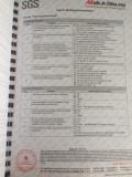 SGS testing report6