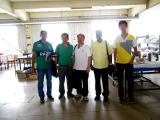 Customer from Malaysia visit our factory for Internormen filter 306608