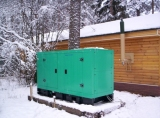 Huihe Genset Applied in Cold Winter in Russia