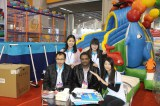 Foreign clients in exhibition