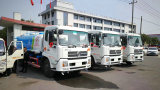 3 units 12CBM Dongfeng Kinrun Euro 4 Water Truck for Indonesia